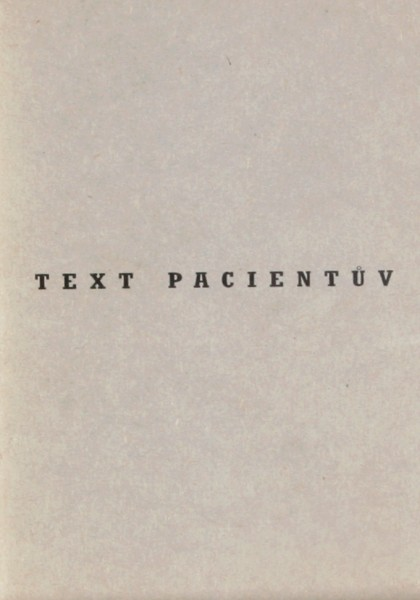 Text pacientův